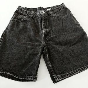 Levi 37950 black gray shorts 9